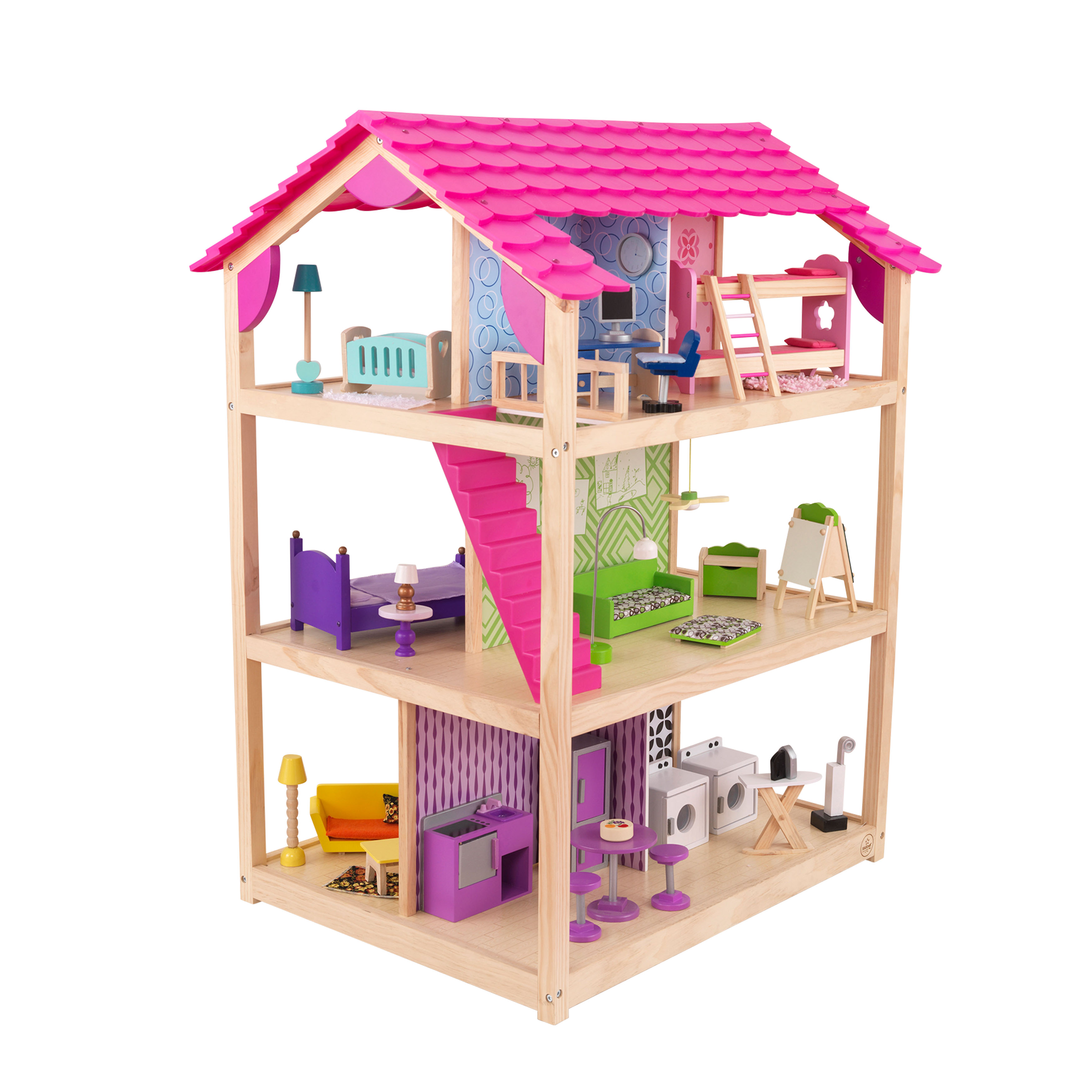 KidKraft So Chic Dollhouse with 46 Accessories by KidKraft
