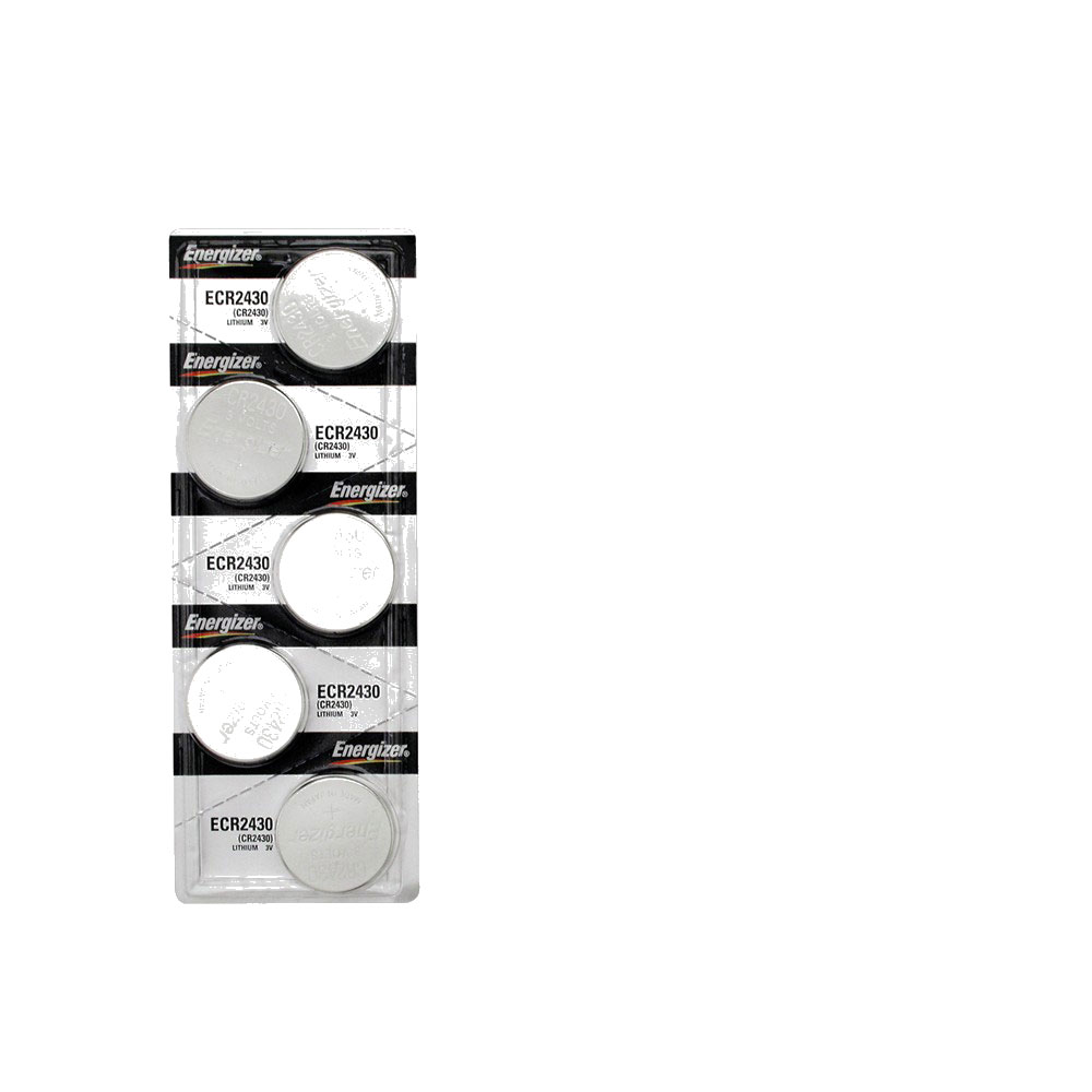 Energizer CR2430 Lithium 3volt Cell battery 5 Pack by Energizer