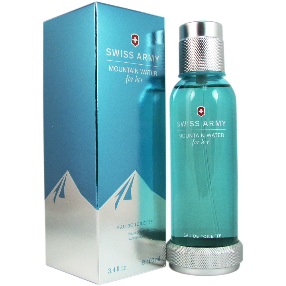 Swiss Army Mountain Water for Her 3.4 oz EDT Spray