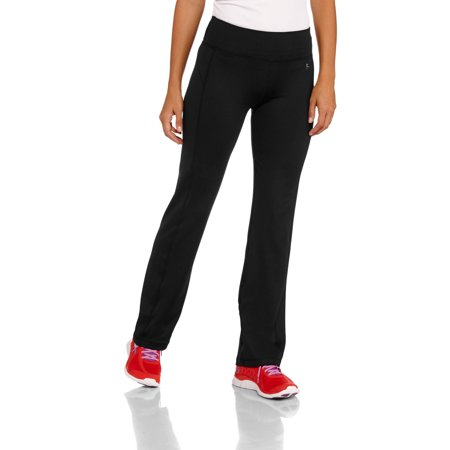 15b73d0537a21 Danskin Now - Women's Poly Straight Leg Pant - Walmart.com