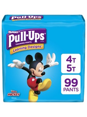 Pull-Ups Boys' Learning Designs Training Pants, Size 4T-5T (Choose Count)