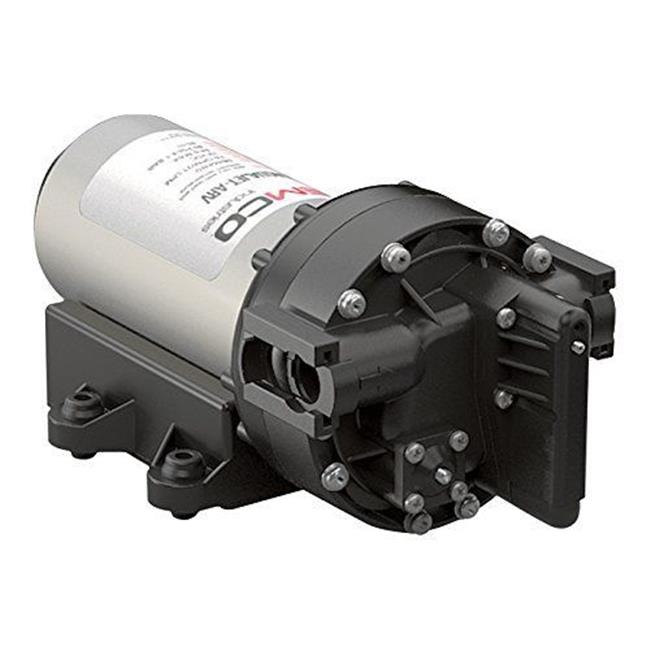 Remco 55AQUAJET-AES 3.4 gpm Aquajet RV Variable Speed Water Pump, 12V - Black