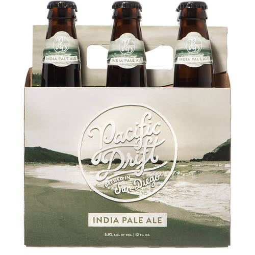 Pacific Drift IPA, 6 pack, 12 fl oz