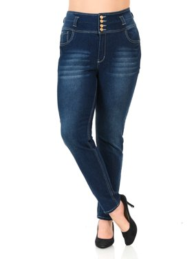 38bab300261 Product Image Pasion Women s Jeans · Plus Size · High Waist · Push Up ·  Style N606