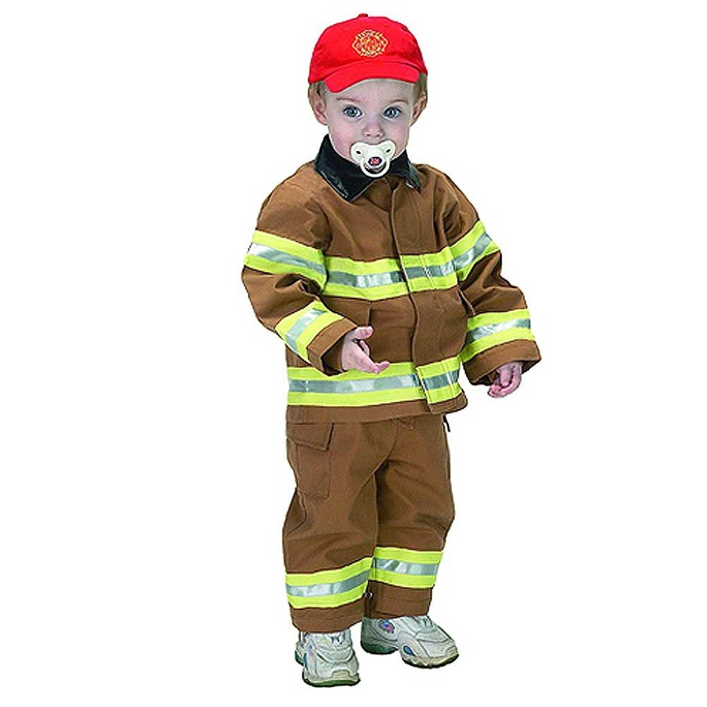 Aeromax Tan Firefighter Dress Up Halloween Costume Infant Boys 18M by Aeromax