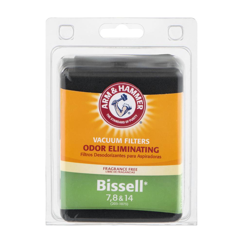 A&H Bissell Style 7, 8 & 14 Allergen Foam Filter Pkg