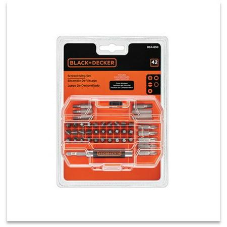 BLACK+DECKER 71-912 Screwdriving/Drill Set, 45pc