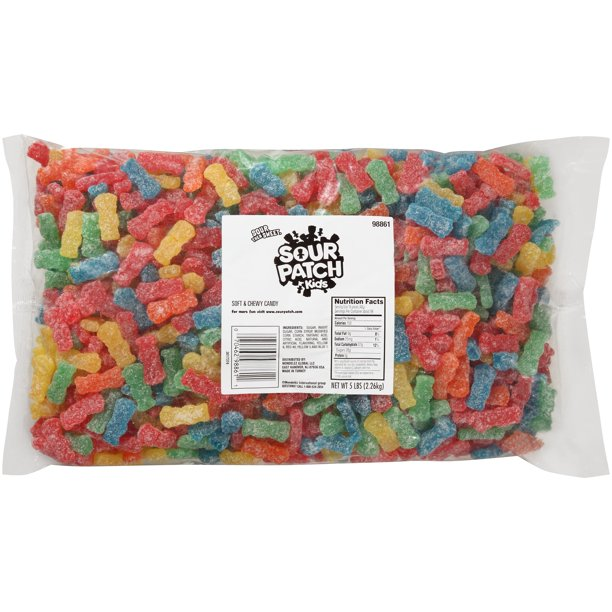 Sour Patch Kids Soft Chewy Candy 5 Lb Walmart Com Walmart Com