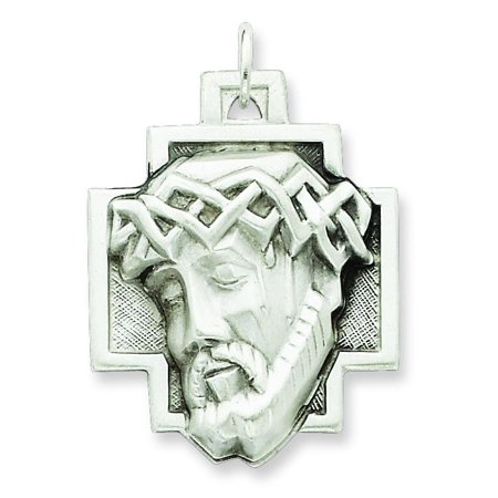 Sterling Silver Jesus Charm Religious