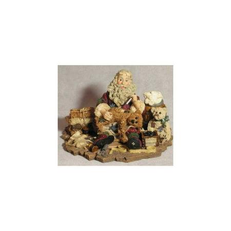 Boyds Collection - Santa & Friends - Santa's Hobby Style #3004