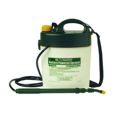- Fountain Lowell Mics Sprayer Root 5-Liter Flo-Master Battery Powered 1.3-Gallon 708537 -