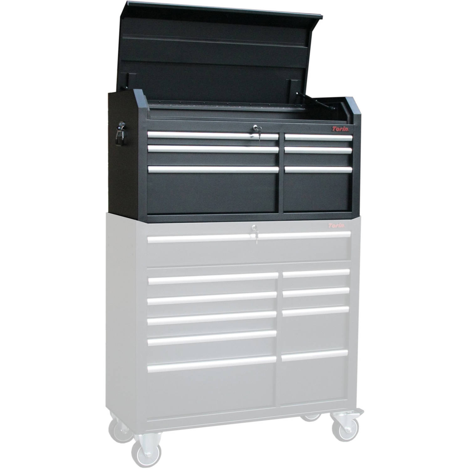 Torin 42-Inch 6-Drawer Tool Chest and Cabinet Set by