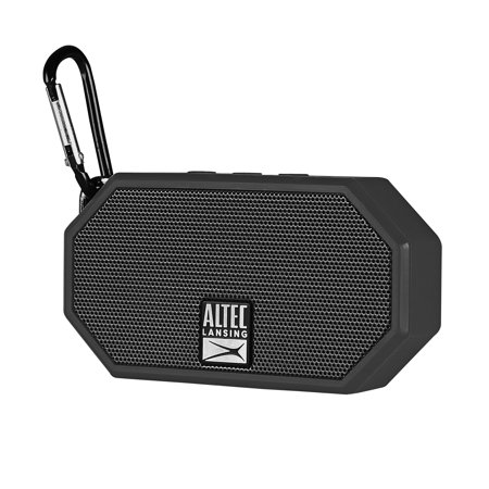 Altec Lansing Mini H20 3 Bluetooth Speaker Black - Walmart com