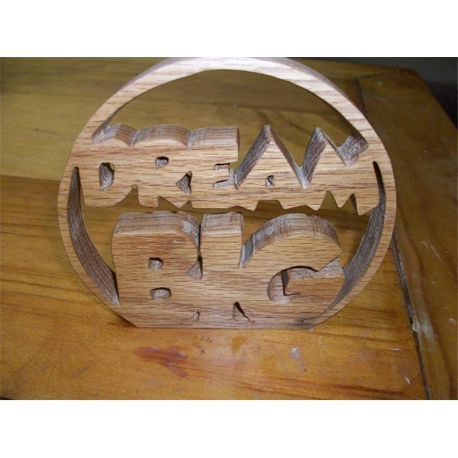 Fine Crafts 936HOU Wooden Dream Big table sign