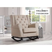 Delta Children Emma Nursery Rocking Chair, Ecru
