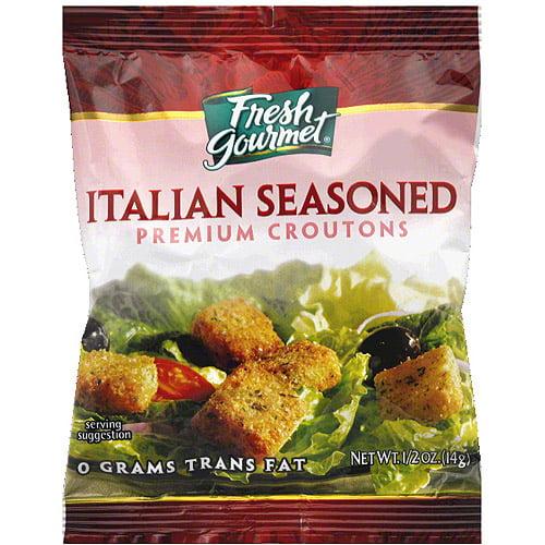Fresh Gourmet Italian Seasoned Croutons, 0.5 oz