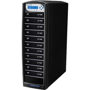 SHARKBLU BLU-RAY DVD CD USB 3.0 STAND-ALONE 1:11 DUPLICATOR HDD