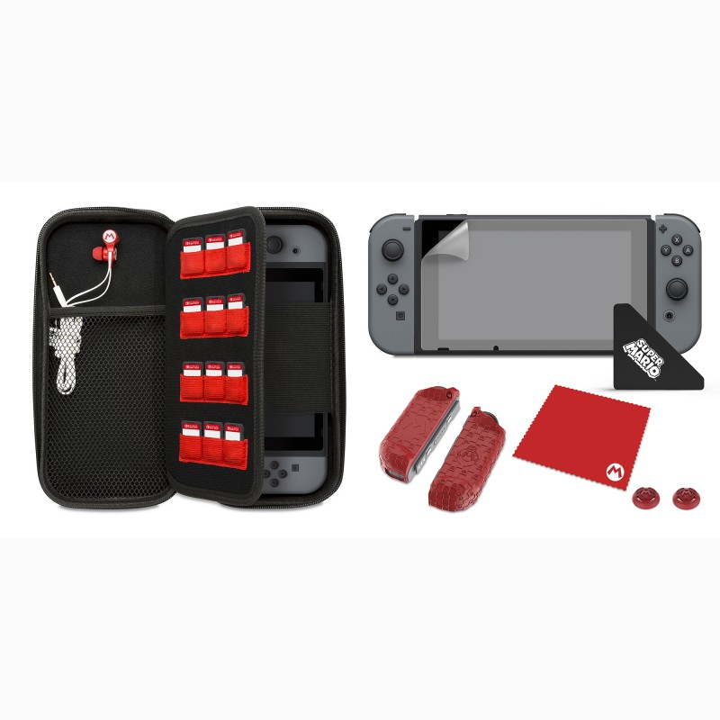 "PDP ""Mario's Icon"" Starter Kit for Nintendo Switch"