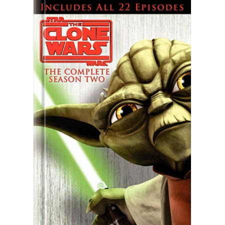 Star Wars The Clone Wars: The Complete Season Two (DVD) (Star Wars Clone Cody)