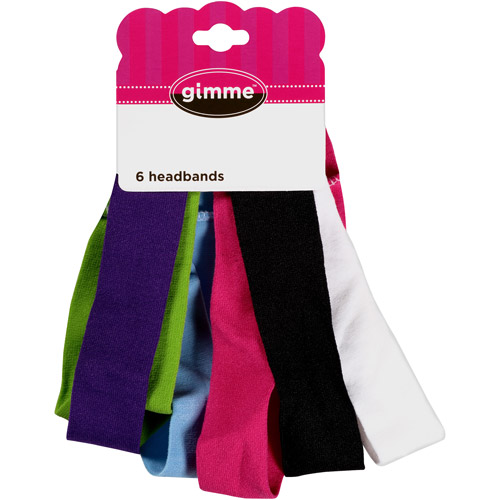 Gimme Stretchy Headwraps, 6 count