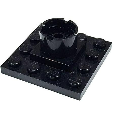 Lego Parts  Boat Mast Section Base 4 X 4 X 1 2 3  Black