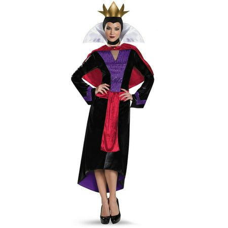 Disney Deluxe Evil Queen Women's Plus Size Adult Halloween Costume, XL - Plus Size Evil Queen Halloween Costume