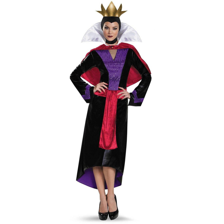 Disney Deluxe Evil Queen Women's Plus Size Adult Halloween Costume, XL