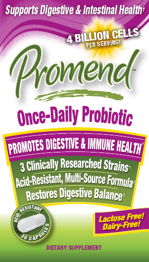 Windmill Health Products Promend Once Daily Probiotic Capsules, 4 Billion Cells, 30...