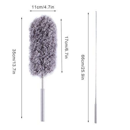Homeholiday Adjustable Stretch Duster Dust Cleaner Microfiber Furniture Dust Brush Household Cleaning Tool - image 3 de 8