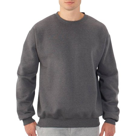 fruit of the loom big men 39 s fleece crew sweatshirt. Black Bedroom Furniture Sets. Home Design Ideas