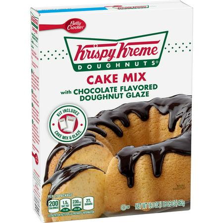 Krispy Kreme Cake Mix Chocolate