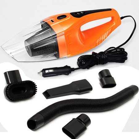 100W 2V Portable Handheld Vacuum Cleaner - Hand Vacuum Pet Hair Vacuum, Car Vacuum Cleaner Dust Busters for Home and Car Cleaning Wet &