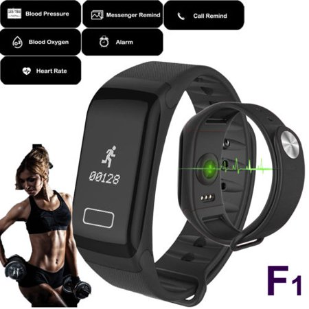 New Fitness Blood Pressure Oxygen Heart Rate Monitor Smart Watch Band