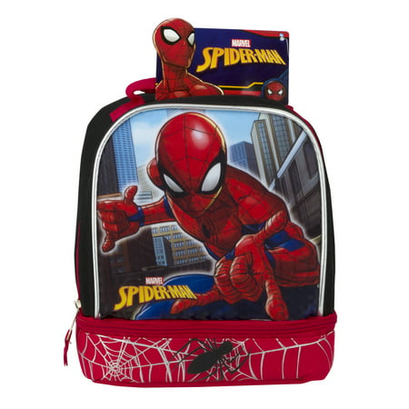 Marvel SpiderMan Lunch Bag](Spiderman Lunch Box)