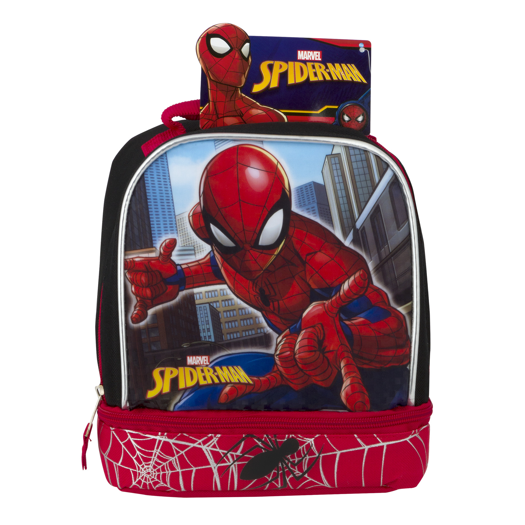 Marvel Spider-Man Lunch Bag, 1.0 CT