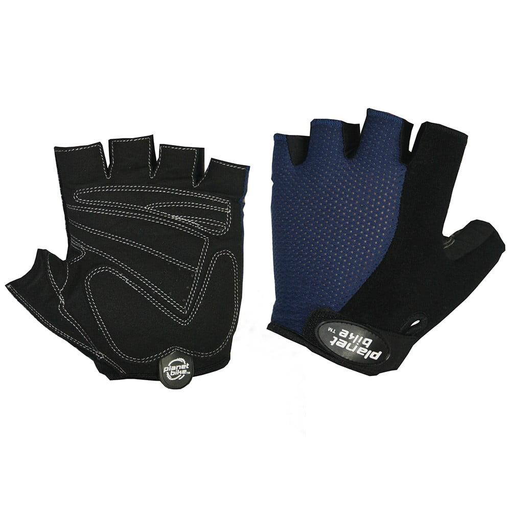 Planet Bike 9001-X-Small Aries Amara Light Gloves Black/Blue X-Small