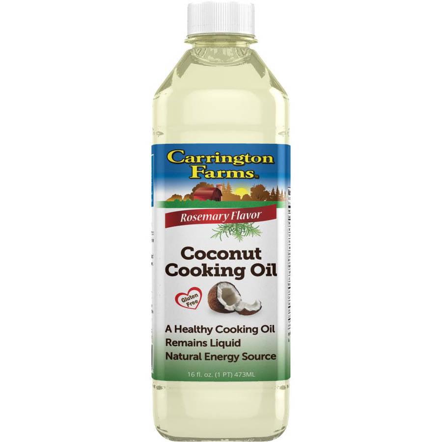 Carrington Farms Rosemary Flavor Coconut Cooking Oil, 16 fl oz