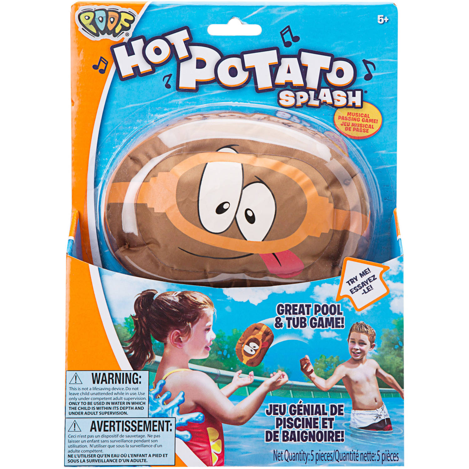 POOF Hot Potato Splash