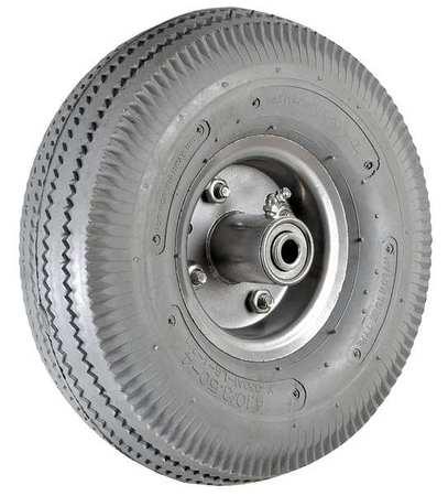 Tubed Pneumatic Wheel,10 in.,350 lb. ZORO SELECT 2RZJ5