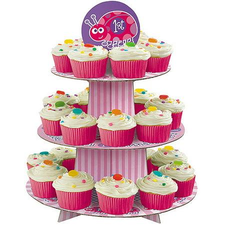 Ladybug 1st Birthday Cupcake Tree Walmart Com