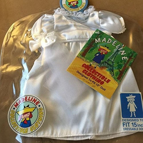 """Madeline Collectible 15"""" Dressable Rag Doll Wedding Bride Clothes Outfit by"""