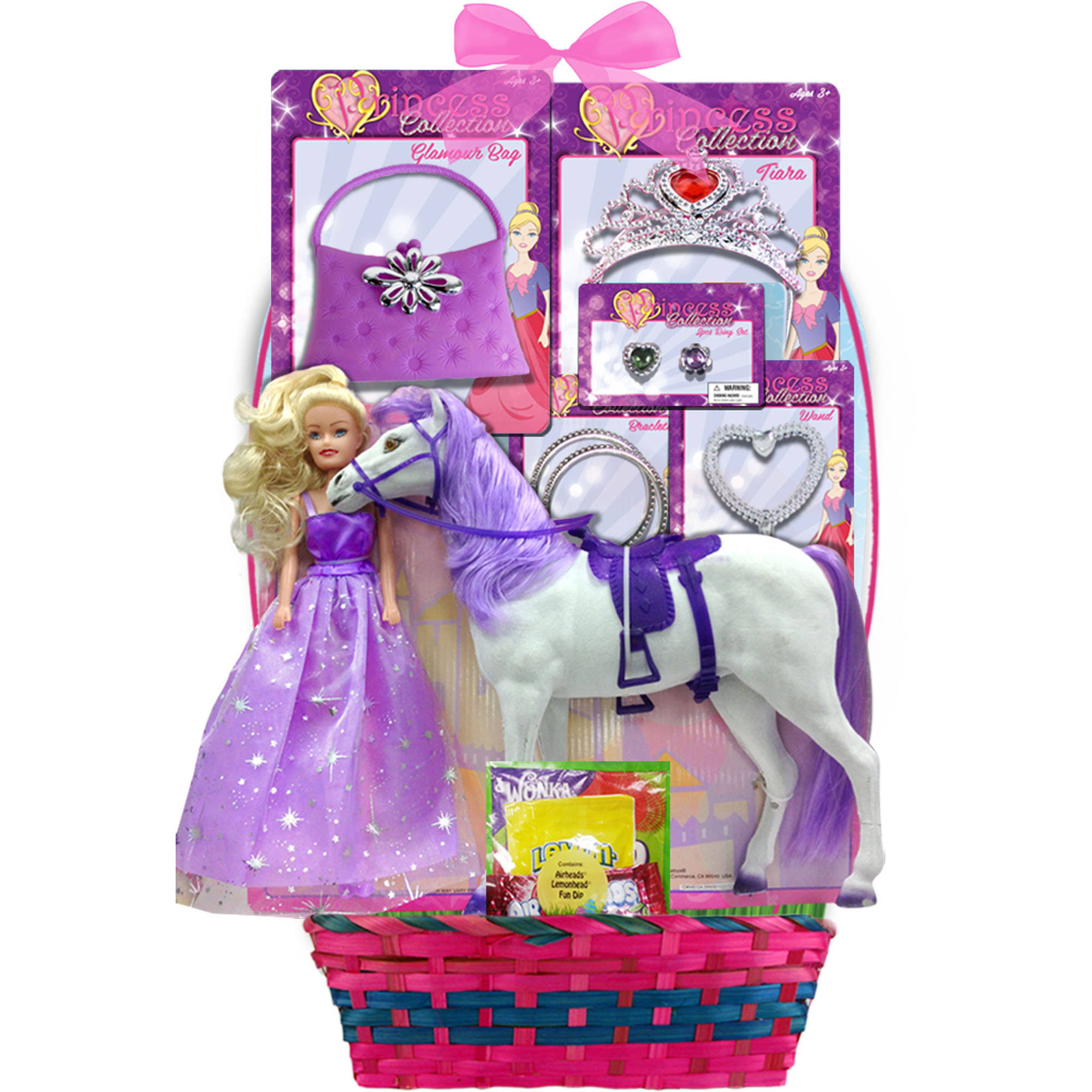 Megatoys Pony Princess & Candies Easter Basket