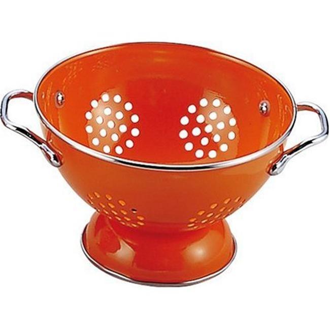 Reston Lloyd Orange - 1.5 Qt Colander- Powder Coated