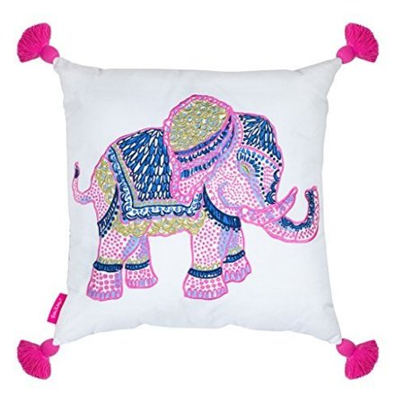 - Lilly Pulitzer Large Pillow, Elephant