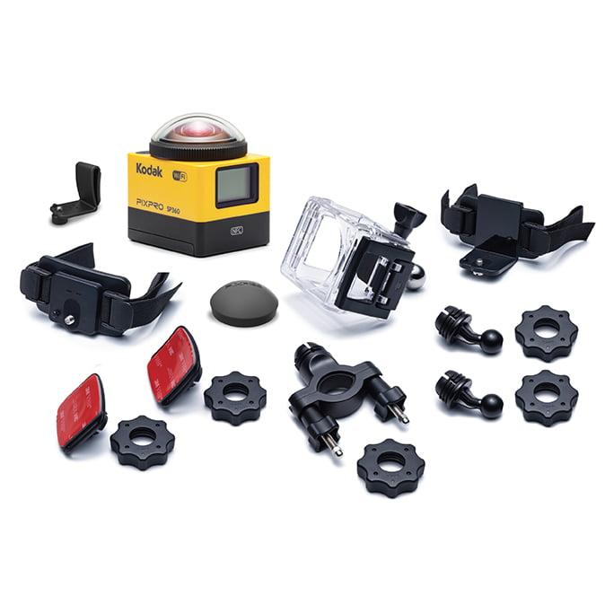 Kodak SP360-YL3 PIXPRO HD Action Camera Explorer Pack Yellow