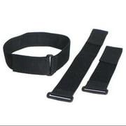 VELCRO BRAND Cinch Strap,Black,2x12 In,PK10 2X12KWVS