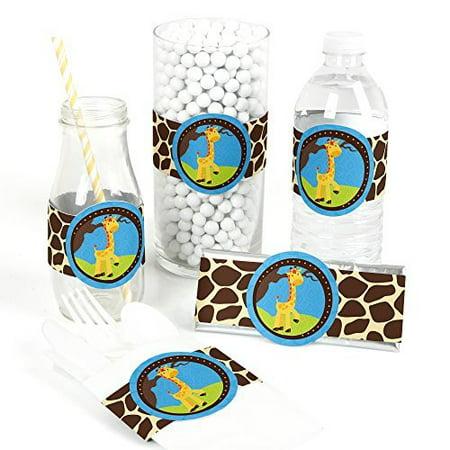 Giraffe Boy - DIY Party Wrapper Favors - Set of 15](Giraffe Party Favors)