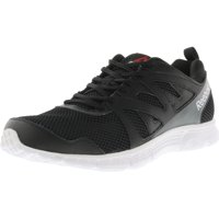e8c8d49d7 Reebok Men s Run Supreme 2.0 Black   White Alloy Ankle-High Running Shoe -  9W