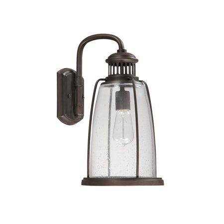 Capital Lighting Harbour Old Bronze 1 Light Wall Lantern