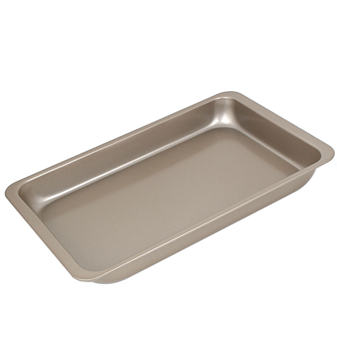Click here to buy Bread Carbon Steel Rectangle Design Baking Mold Mould Tray Bakeware Pan Black by Unique-Bargains.